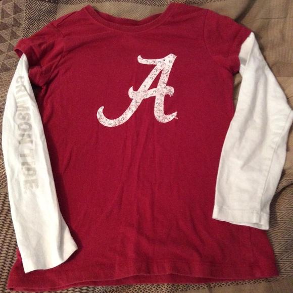 Alabama crimson tide girls long sleeve